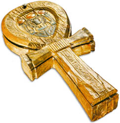 Ankh-Shaped Mirror Case