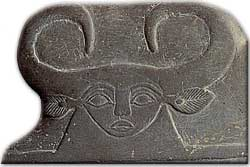 Bat, as seen on the  Narmer palette