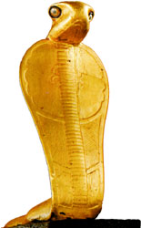Cobra from King Tut's tomb