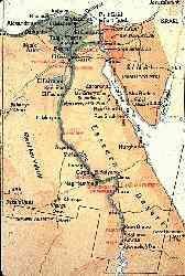Map of Egypt, Click on it to zoom in!
