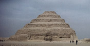 The Step Pyramid, designed by Imhotep