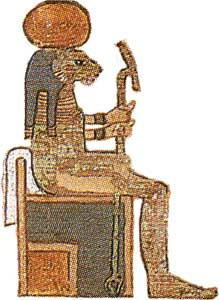 Ancient Egypt: the Mythology - Tefnut
