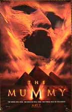 Movie poster for The Mummy